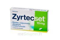 ZYRTECSET 10 mg, comprimé pelliculé sécable à Mérignac
