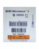 BD MICROLANCE 3, G25 5/8, 0,5 mm x 16 mm, orange  à Mérignac