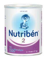 NUTRIBEN 2 PREBIOTIQUES PROBIOTIQUES, bt 800 g à Mérignac