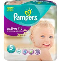 PAMPERS COUCHES ACTIVE FIT TAILLE 5 11-25 KG x 20 à Mérignac