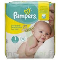 PAMPERS NEW BABY PREMIUM PROTECTION, taille 1, 2 kg à 5 kg, sac 22 à Mérignac