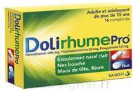 DOLIRHUMEPRO PARACETAMOL, PSEUDOEPHEDRINE ET DOXYLAMINE, comprimé à Mérignac