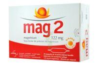 MAG 2 SANS SUCRE 122 mg, solution buvable en ampoule édulcoré à la saccharine sodique à Mérignac
