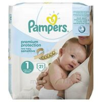 Pampers couches new baby sensitive taille 1 - 21 couches à Mérignac