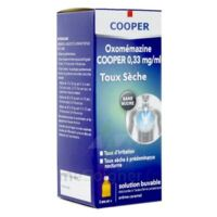 OXOMEMAZINE H3 SANTE 0,33 mg/ml SANS SUCRE, solution buvable édulcorée à l'acésulfame potassique à Mérignac