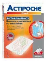 Actipoche Patch chauffant douleurs musculaires B/2 à Mérignac