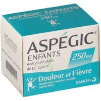 ASPEGIC ENFANTS 250, poudre pour solution buvable en sachet-dose à Mérignac