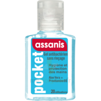 Assanis Pocket Gel antibactérien mains 20ml à Mérignac