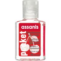 Assanis Pocket Parfumés Gel antibactérien mains cerise 20ml à Mérignac